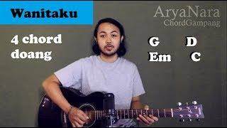Chord Gampang (Wanitaku - NOAH) Arya Nara (Tutorial Gitar) Untuk Pemula