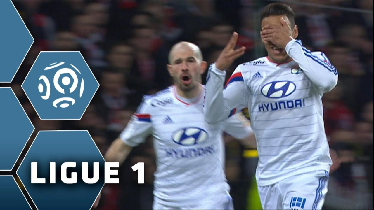 Goal Corentin TOLISSO 2 LOSC Lille Olympique Lyonnais 2 1