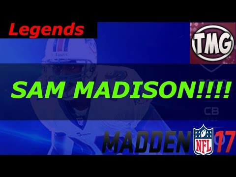 New Legends Sam Madison and Kevin Mawae!!!!!!! | MUT 17 Legends