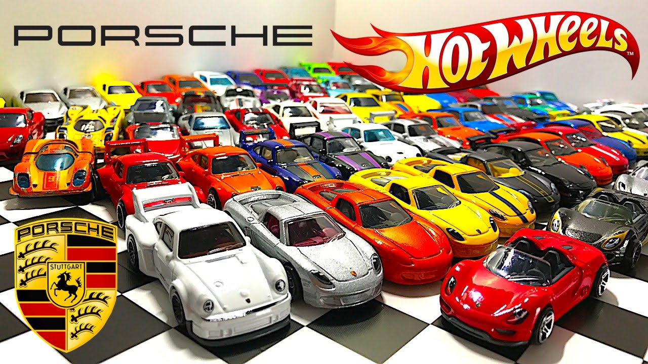porsche hot wheels collection youtube. Black Bedroom Furniture Sets. Home Design Ideas