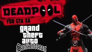 DEADPOOL MOD: INCRÍVEL - GTA SAN ANDREAS MOD