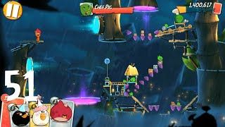 Angry Birds 2: level 51, 3Star