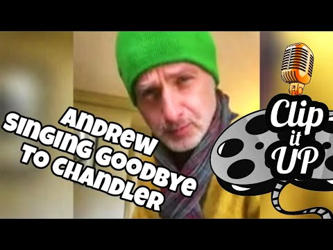 Andrew Lincoln singing farewell to Chandler Riggs & Carl!