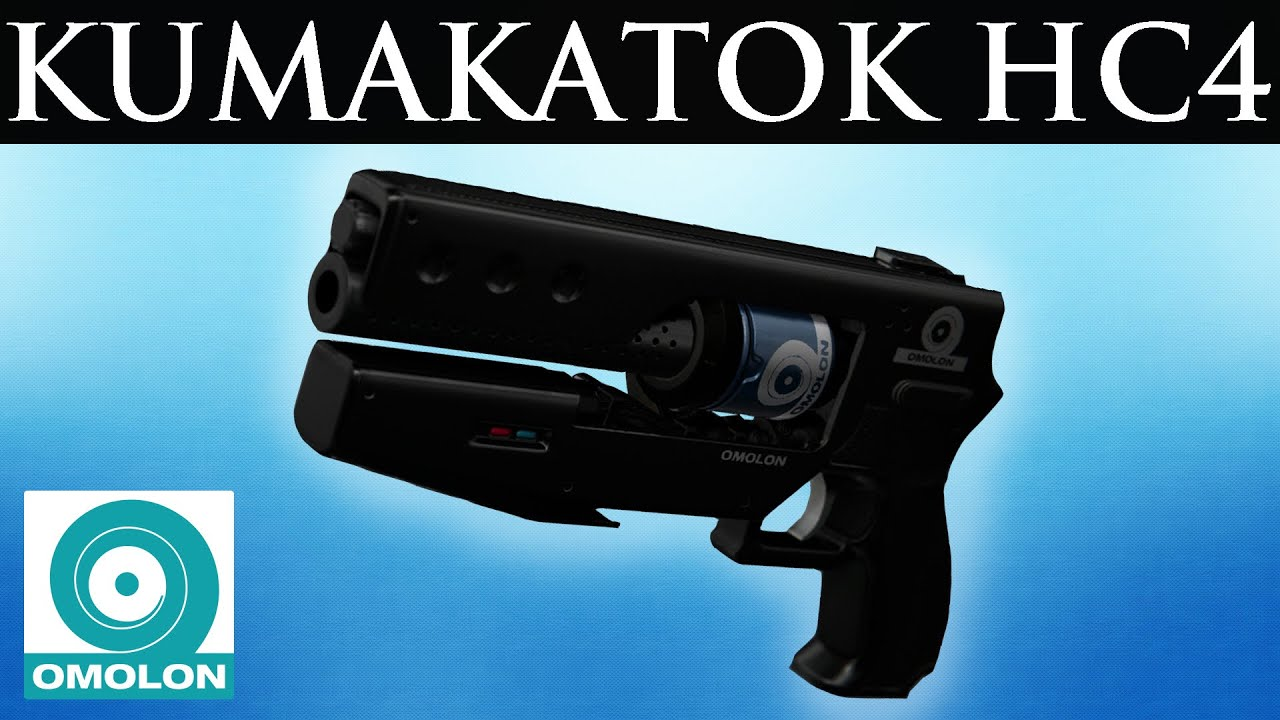 Omolon Kumakatok HC4 Legendary Hand Cannon