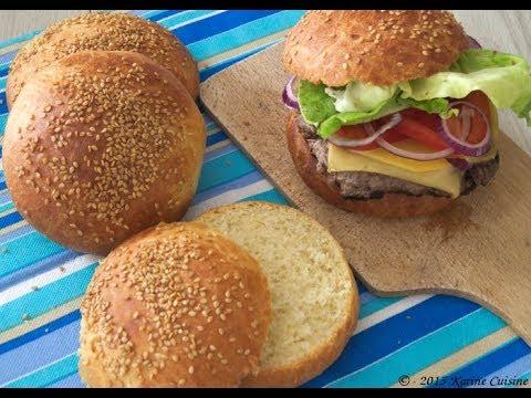 Le Tuto Boulange : Les pains à hamburger - Les buns