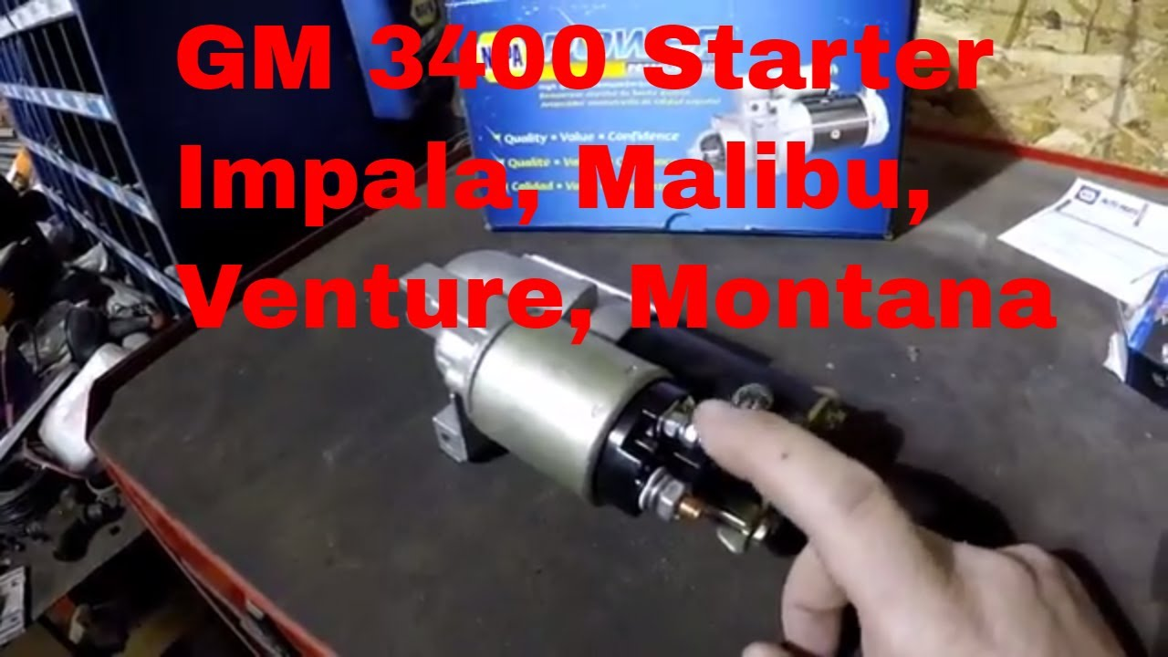 how to test and replace starter on chevy impala malibu monte carlo 2006 chevy impala starter location chevrolet impala