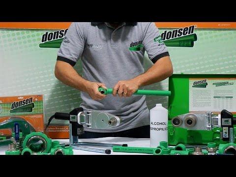 Soldadura con Donsen PPR® - La mejor tubería de Polifusión