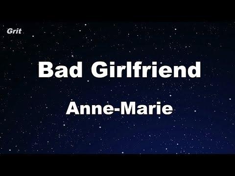 Bad Girlfriend - Anne-Marie Karaoke 【With Guide Melody】 Instrumental
