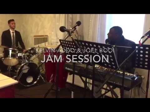 Kelvin Addo ft  Joël Booi  Gospel jazz Jam Session 1