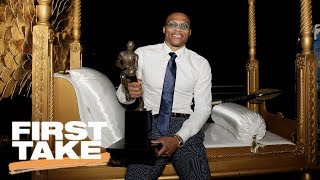 Will Cain Says Russell Westbrook Is Not MVP Of NBA | First Take | June 27, 2017