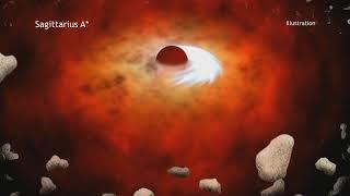 видео В центре Млечного Пути найдено две чёрные дыры
