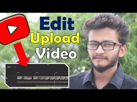 {HINDI} How to Edit Existing YouTube Videos After They're Live & Published || edit uploaded videos