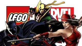 LEGO: Marvel Super Heroes - Elektra, Black Panther & Iron Fist (FREE ROAM)
