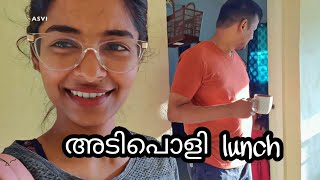 Simple lunch cooking|GYM day|My skincare routine for shoot days|Evening snack|Asvi Malayalam