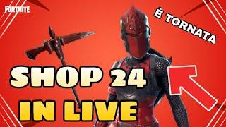 SHOP 24 JENNAIO IN LIVE - WE'ReINTED LO SHOP INSIEME - Auditions pour la nouvelle équipe ( FORTNITE )