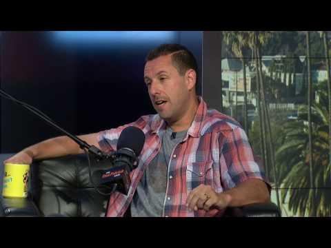Actor/Comedian Adam Sandler shares Michael Jordan on SNL Story (5/4/17)