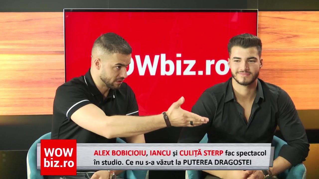 Alex Bobicioiu, Iancu si Culita Sterp fac spectacol in studio! Ce nu s-a vazut la Puterea Dragostei