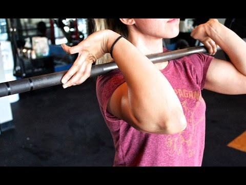 Front Squat Rack Position - Modification For Wrist Pain
