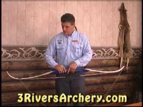 3Rivers Archery Longbow & Recurve Bow Stringer