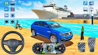 Mercedes-Benz EQC Taxi Driving in Miami-Taxi Sim 2020-Android 게임 플레이