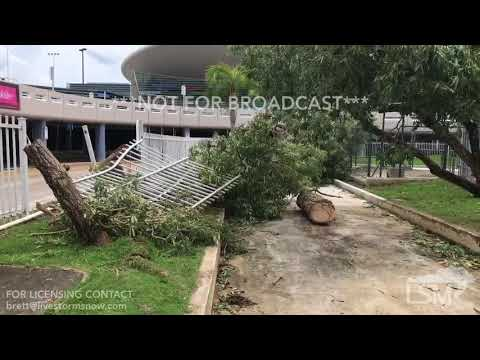 9-7-17 San Juan, PR Damage - SJU Cancellations- Power Outage