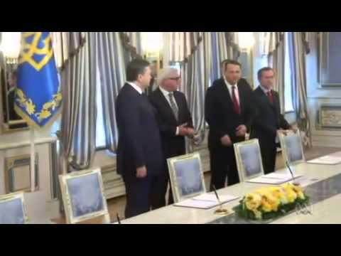 Ukraine's ousted leader Viktor Yanukovych surfaces in Russia claiming he's still the President