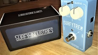 Surfy Industries SurfyTrem - Surfy Bear Tremolo - Demo
