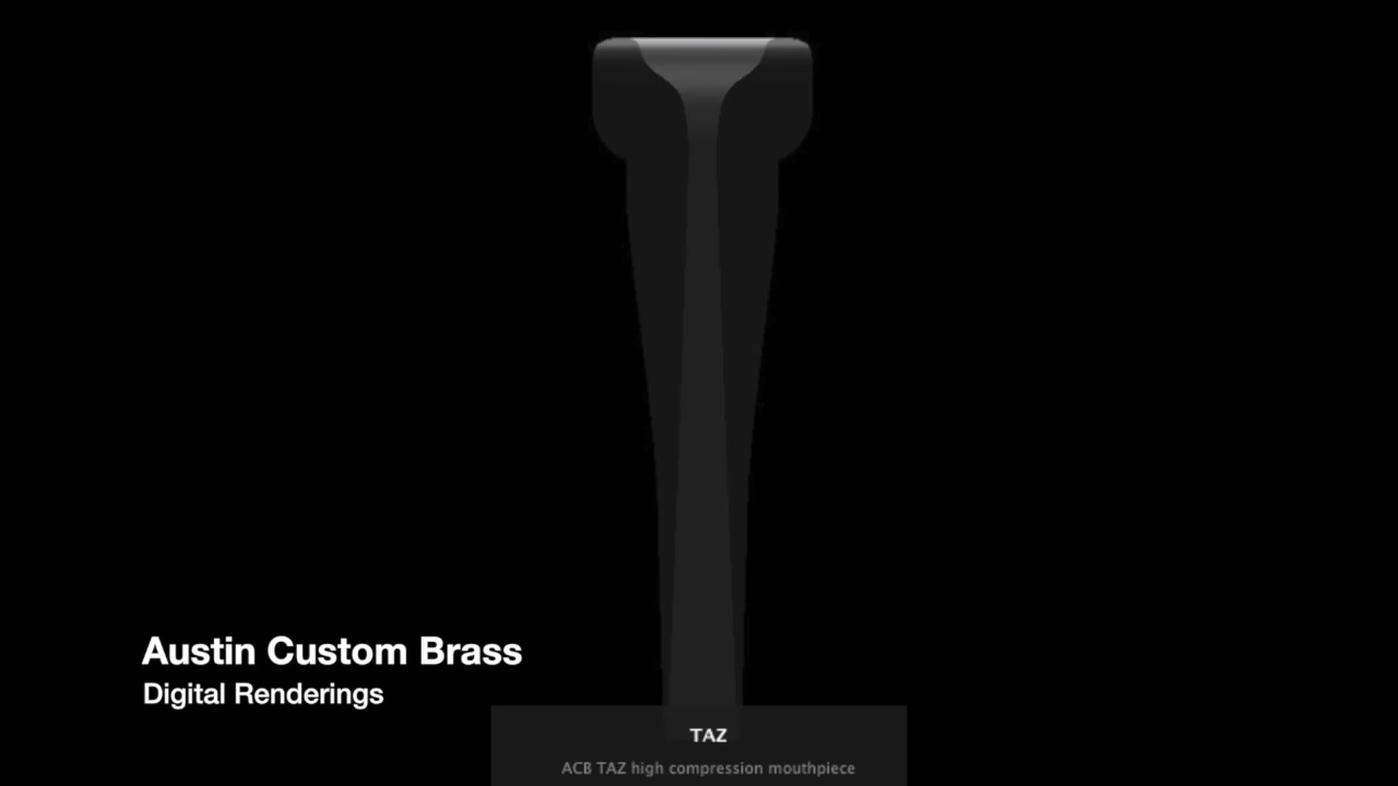 Austin Custom Brass Standard Series Trumpet Mouthpieces