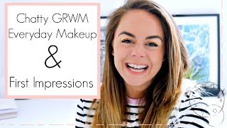 Chatty GRWM Everyday Makeup + First impressions // Jecca Makeup