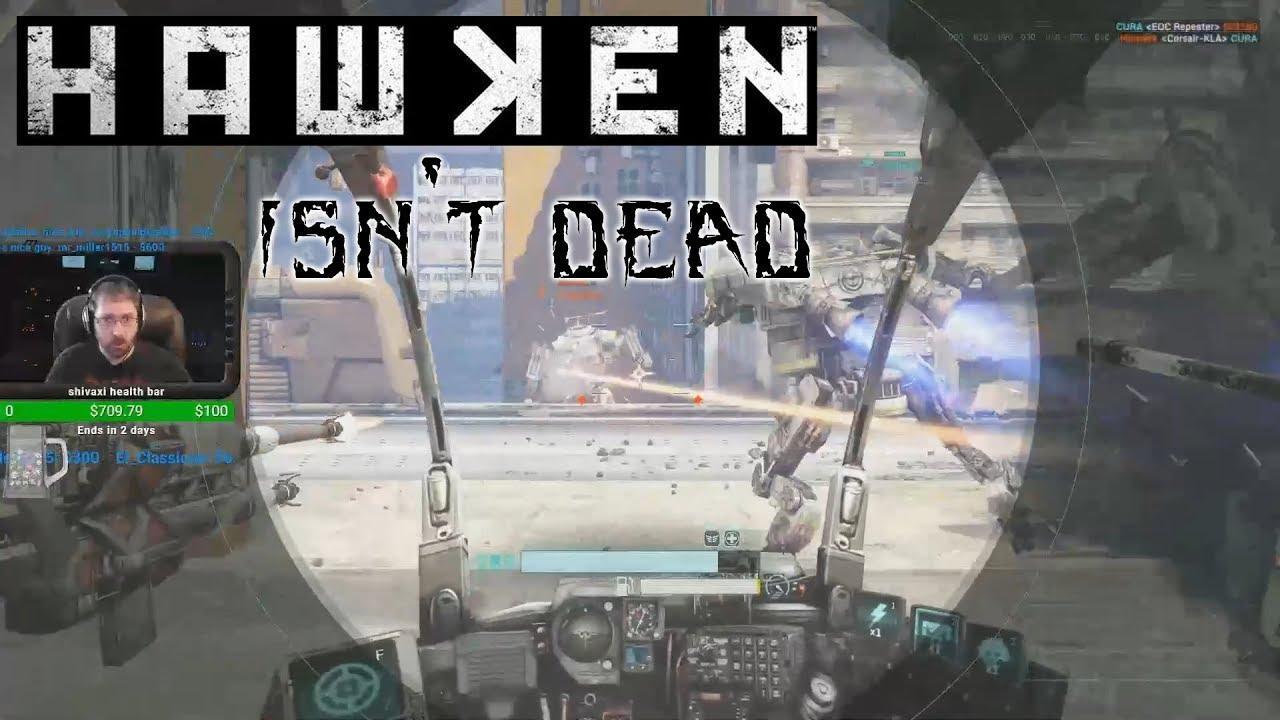 so apparently Hawken isn't dead