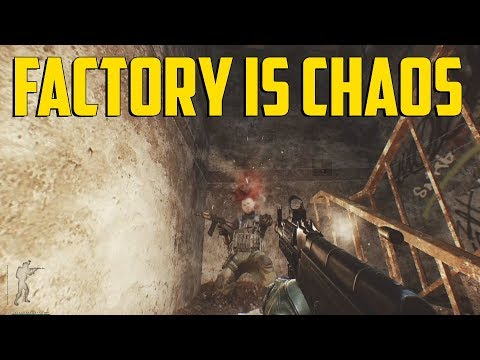 Escape From Tarkov - Factory Is Chaos
