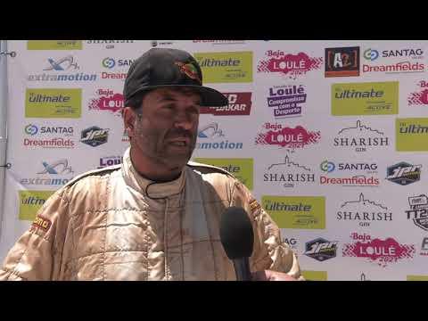 Baja de Loulé   Entrevista final Nuno Fontes