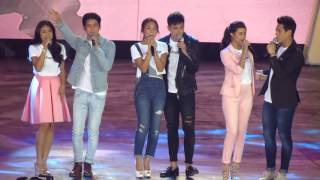 JADINE, KATHNIEL, LIZQUEN at Showtime 6th Anniv in Araneta 9.26.15