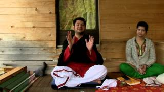 """Ananda Dham Retreat """"Sravanam"""" by Acharya Sri Pundrik Goswami 01.06.2013 Ticino-Switzerland"""