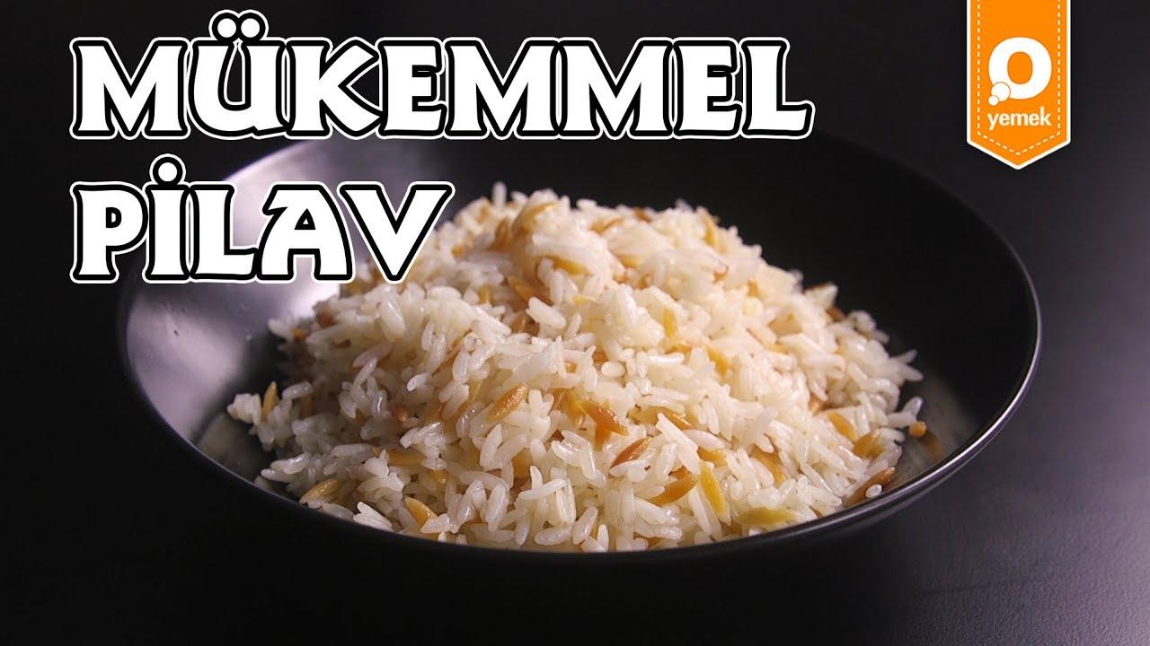 Siyah Pirinç Pilavı Yapımı Videosu