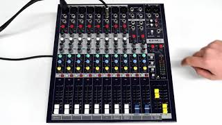 How to use aux outputs on a Soundcraft EPM8 Mixer