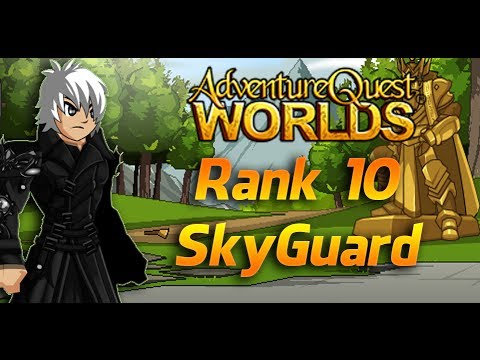 =AQW=Getting Rank 10 Skyguard & Skyhunter Armor