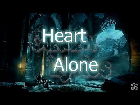 Heart - Alone Lyrics (1k Subscribers for remake this video with new style)