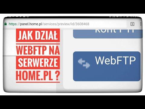 Jak działa webFTP WWW na serwerze HOME.pl ?