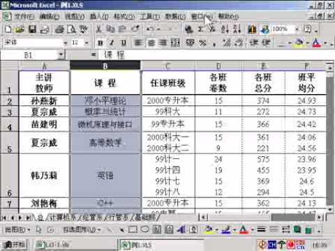 Excel表格處理_2012110702_將 Word 打的通訊錄複製到 Excel 中並整理 | Doovi