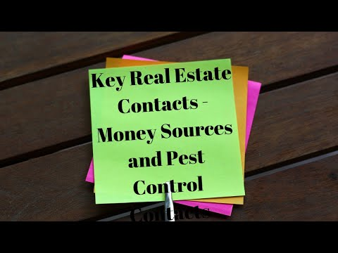 Key Real Estate Contacts