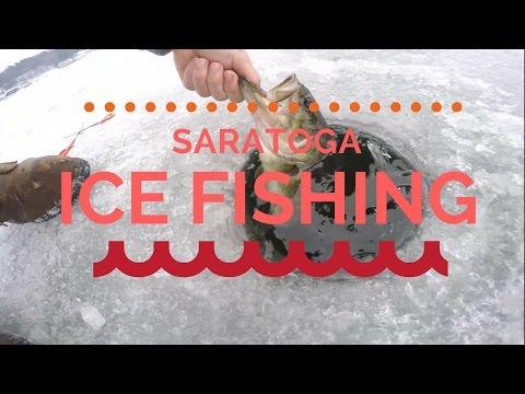 Saratoga Lake Ice Fishing