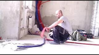 (Москва сантехник 91 Митино) ЖК Красногорске 21 корпус заменил отопление под stout