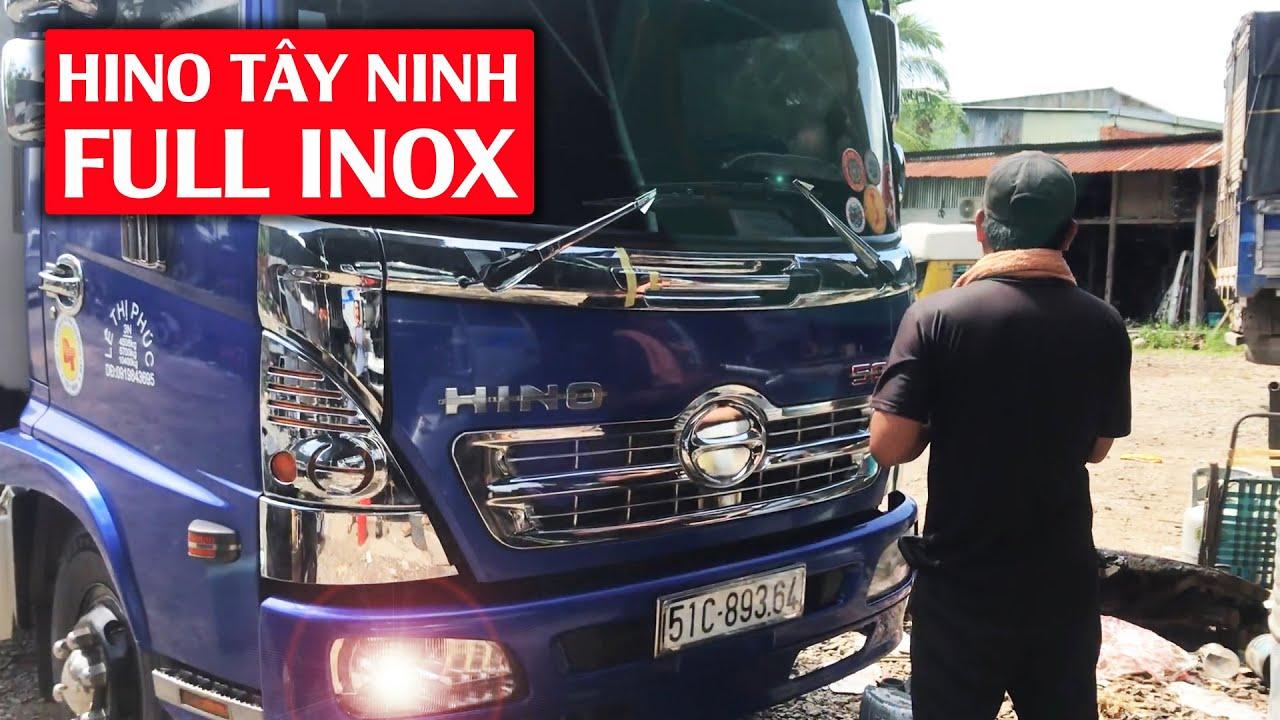 Chiếc HINO FC Tâm Huyết Full INOX - Quyền Auto Của Bác Tài đất Muối Ớt Tây Ninh   Hà Nội Phố Xe Tải