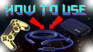 HOW TO RECORD AND HEAR GAME AUDIO WITH ELGATO ON PS4! 2019* (CHAT LINK CABLE UNBOXING)