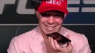 Colby Covington được Tổng thống Trump gọi điện sau chiến thắng của anh ấy trước Tyron Woodley