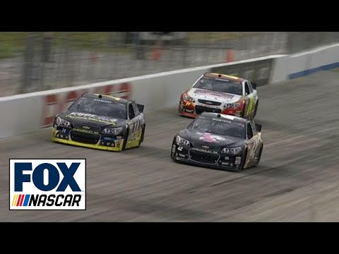 Tony Stewart Wins FedEx 400 at Dover - YouTube