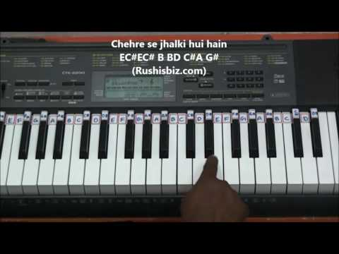 Main Agar Kahoon ....... Piano Tutorials (FULL SONG)