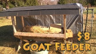 Goat Feeder For $8