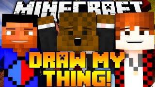 Minecraft DRAW MY THING w/ BajanCanadian, Vikkstar123 & JeromeASF